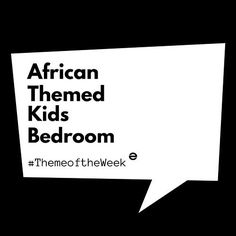 Did you get it?? We're sooooooooooo excited!!! #MoodBoardMonday #AfricanThemedKidsBedroom #KidsBedroom