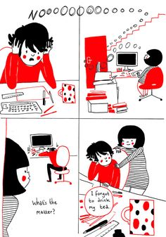 Philippa Rice is a multi-talented artist who creates simple but beautiful comics about the everyday joys of living with someone you love. The title of her comic book, Soppy, is unapologetically fitting!