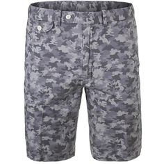 Grab the Polo Ralph Lauren Men's Printed Stretch Chino Tennis Shorts and accentuate any outfit with a bit of originality! With a more khaki-like construction, these shorts may not function too well on the tennis court, but they will surely do the job in other semi-athletic endeavors. Touting cotton stretch twill fabrication, these shorts will have a decent amount of flex and a surprising amount of breathability.