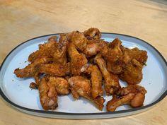Crispy Baked Chicken Wings Recipe   Michael Symon   Food Network Crispy Baked Chicken Wings, Crusted Chicken, Sriracha Chicken, Oven Chicken, Fried Chicken, Food Network Recipes, Cooking Recipes, Keto Recipes, Healthy Recipes