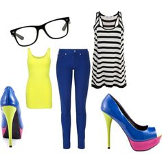 """""""Nerdy Girl"""" by lshahan on Polyvore"""