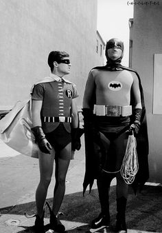 Robin: what's wrong Batman. Batman: my pants are too tight.