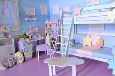 Sanrio Little Twin Stars Room My New Room, My Room, Girls Bedroom, Bedroom Decor, Bedrooms, Kawaii Bedroom, Pastel Room, Cute Room Ideas, Aesthetic Rooms