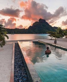 Bora Bora is a small South Pacific island northwest of Tahiti in French Polynesia Oh The Places You'll Go, Places To Travel, Places To Visit, Dream Vacations, Vacation Spots, Romantic Vacations, Italy Vacation, Hotels, Destination Voyage