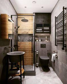 Best Bathroom Designs, Bathroom Ideas, Home Reno, House Goals, Amazing Bathrooms, Bathroom Interior, Interior Inspiration, House Design, Furniture