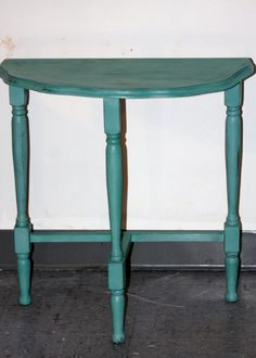 Vintage Shabby Chic Half Moon Table By GranvilleGallery On Etsy, $40.00