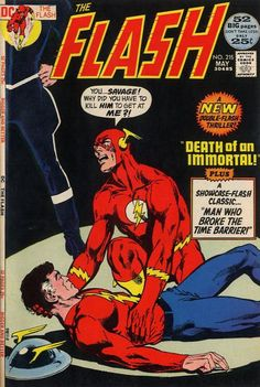 The Flash #215 (1959 series) - cover by Neal Adams