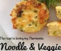 Noodle and Vegetable Frittata
