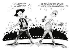 """Karikatur vom 14. Mai 2016: """"Austria: 12 Points?"""" Mehr Karikaturen auf: http://www.nachrichten.at/nachrichten/karikatur/ (Bild: Mayerhofer)"""