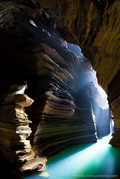 Sacred Gupteshwor Shiva Cave is located near Davi's Falls in Pokhara, Nepal