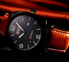 Мужские часы Curren Luxury Watch. Цена от 2490 руб.  Интернет-магазин. Бесплатно доставляем по России. Без предоплаты. Круглосуточно. Закажите здесь! http://topruwatch.ru/curren_luxury_watch