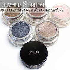 Jouer Cosmetics Long-Wear Cream Mouse Eyeshadows - Citizens of Beauty