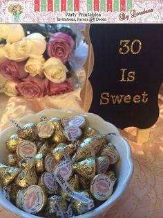 """30th Birthday Party Favors """"Kissing 20's Goodbye"""" {Choose your lip color!}  #30thbirthday #favors #ideas #fun                                                                                                                                                                                 More"""