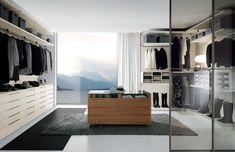 Nicchia by Fimes in Seta and bifacial chest of drawers in Canaletto walnut. #bed #nightstand #bedroom #closet #slidingdoors #leafdoors #interiordesign #design #modern #contemporary #madeinitaly #salonedelmobile #fieradelmobile #isaloni #fieramilano #luxury #glamour #artdeco #fimes #dresser #tvunit #sofa #mirror #silver #gold #leather #glossy #swarovski #fimeshomedesign #homedesign #clay #bookcase #walkingcloset #cornerbed #coplanar #leather