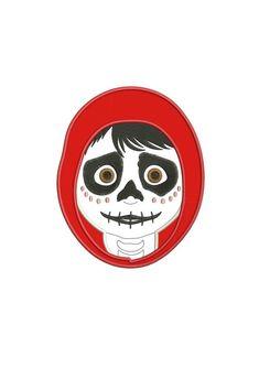 Coco, Miguel, Day of the Dead: Applique - Machine embroidery design Disney Makeup, Dead Makeup, Embroidery On Clothes, Drawing Clothes, Janome, Day Of The Dead, Birthday Shirts, Sanrio, Projects For Kids