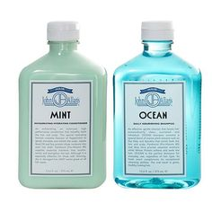 John Allan's Ocean Shampoo & Mint Conditioner Set ($38) ❤ liked on Polyvore featuring beauty products, haircare, hair shampoo, fillers, beauty, hair, makeup and other
