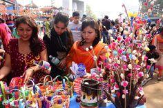 Surajkund International Crafts Mela attracts huge number of visitors on Basant Panchami! International Craft, Stalls, Attraction, Number, Crafts, Manualidades, Handmade Crafts, Craft, Arts And Crafts