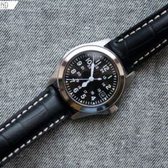 """""""The Field Standard Seiko mod by Go and Behold x Nick Harris"""" via @watchville"""