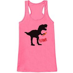 Custom Party Shop Womens Dinosaur Teacher Tank Top