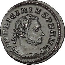 Licinius I Constantine The Great enemy Ancient Roman Coin Genius Cult i53331