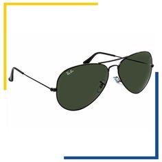 """57107972b629a Shopping dos Óculos on Instagram  """"O Ray-Ban Aviador Preto é uma combinação  clássica de estilo  armação em metal e lente G-15.  shoppingdosoculos   rayban ..."""