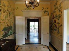 Entry Hall & Door Moulding