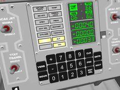 Apollo Guidance Computer, Apollo Spacecraft, Nasa Space Program, Space Tourism, Space Images, Astronauts, Space Shuttle, Space Exploration, Control Panel