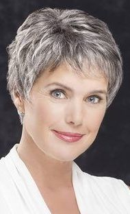 45 Best Short Hairstyles That You Simply Can't Miss, In the event that you've for a long while been itching to go short, may we simply state: now is the ideal time. Nothing says summer like a breeze blow…, Casual Style Source by ruthsiegrist Short Hair Over 60, Short Hair Older Women, Short Thin Hair, Short Grey Hair, Very Short Hair, Short Hair With Layers, Curly Short, Long Hair, Over 60 Hairstyles