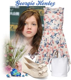 """Georgie Henley"" by fantasiegirl ❤ liked on Polyvore"