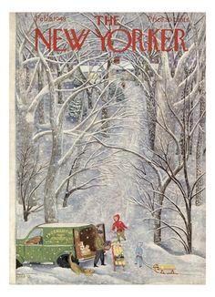 The New Yorker Cover - February 5, 1949 Giclee Print by Ilonka Karasz