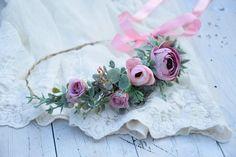 eukaliptus wianek - Szukaj w Google Flower Crown, Beautiful Flowers, Bridesmaid, Boho, Etsy, Google, Crown Flower, Maid Of Honour, Floral Wreath