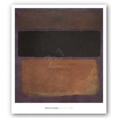 rothko - i want one of these. a duplicate at least.