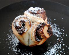 Nutella-Swirl-Brötchen-Muffin