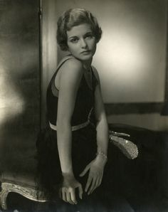 Joan Bennett (1928) | Photographer: Edward Steichen