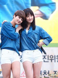 Spica JuHyun and NaRae