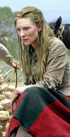 "Cate Blanchett in ""The Missing"" 2003, Ron Howard, Director"