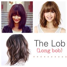 Planning on getting this at my next hair appointment. - Planning on getting this at my next hair appointment. Planning on getting this at my next hair appointment. Medium Bob Hairstyles, Haircuts With Bangs, Thin Hair Bangs, Medium Hair Styles, Short Hair Styles, Golden Brown Hair, Long Gray Hair, Hair Today, Hair Trends