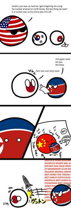 Drawing unwanted attention | Polandballs Countryballs