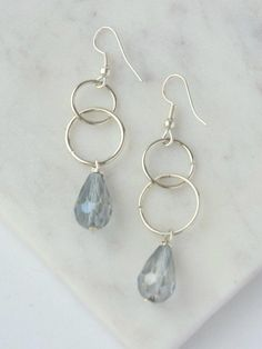 I Love Jewelry, Wire Jewelry, Wedding Jewelry, Beaded Jewelry, Jewelery, Silver Jewelry, Jewelry Design, Jewelry Making, Jewellery Box