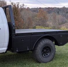 All aluminum HD modular flatbed Custom Flatbed, Custom Truck Beds, Custom Trucks, Custom Cars, Big Ford Trucks, Diesel Trucks, Pickup Trucks, Toyota Trucks, Chevy Trucks