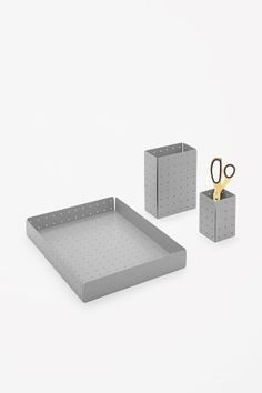 COS | Perforated desk organiser