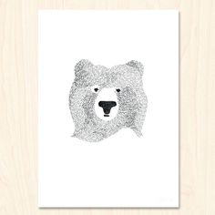 Print - Bear of Few Words
