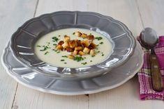 Supă cremă de conopidă – rețetă video I Foods, Soup Recipes, Panna Cotta, Cooking, Breakfast, Ethnic Recipes, Soups, Cuisine, Dulce De Leche