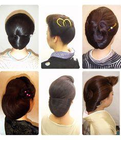 まとめ髪 着物 ヘアカタログ11