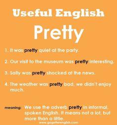 Useful English - Pretty