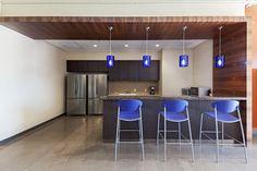 Arizona Blue Stake break room designed by Ware Malcomb. #breakroom #kitchen #design #interiordesign