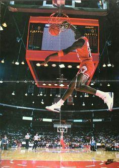 Michael Jordan in dunk contest