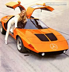 Old Mercedes Concept-Car