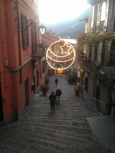 Salita Serbelloni at Christmas Time...