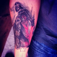 Star Wars tattoo - obviously for the hubs :)